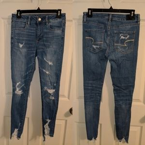 American Eagle Outfitters high rise jeggings sz 4